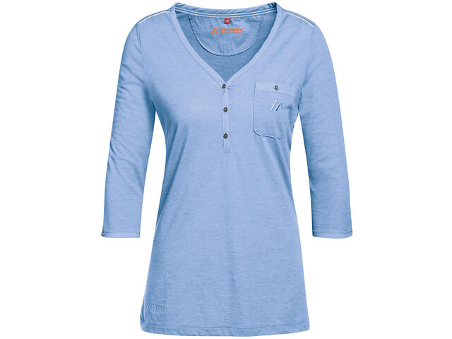 Maier Sports Clare Sweat-shirt Manches 3/4 Femme, allure melange